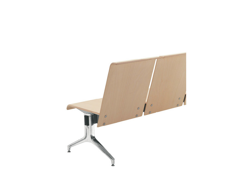Wooden beam seating LINATE | Wooden beam seating by Sesta
