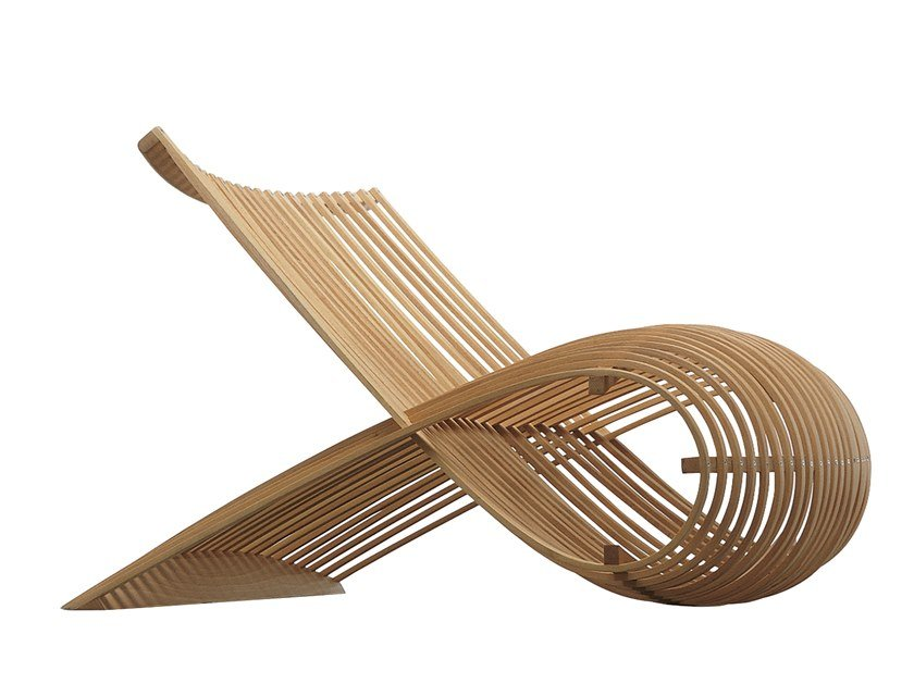 Poltrona in legno WOODEN CHAIR by Cappellini
