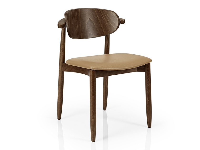 Wooden restaurant chair JOANNA | Wooden chair by JMS  sc 1 st  Archiproducts & JOANNA | Wooden chair Joanna Collection By JMS