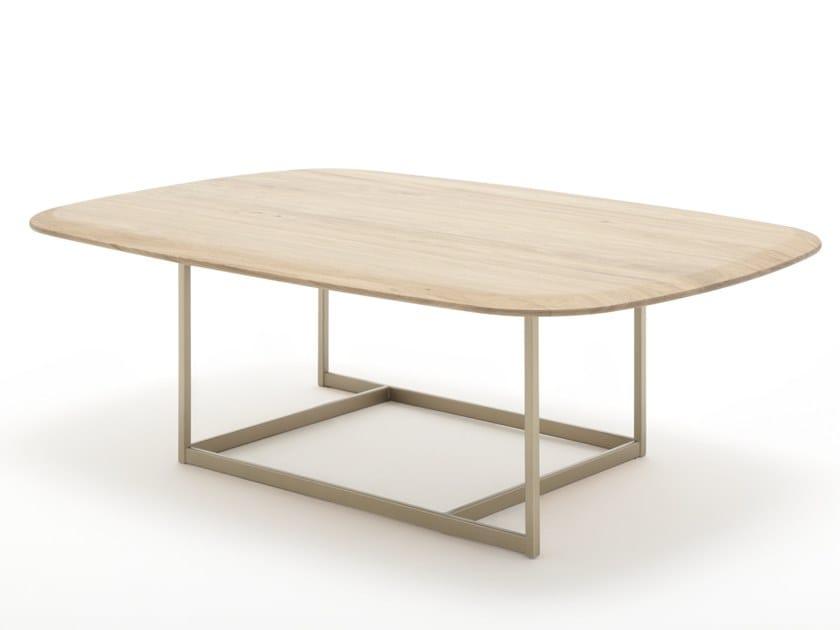 Tavolino rettangolare in legno ROLF BENZ 932 | Tavolino in legno by Rolf Benz