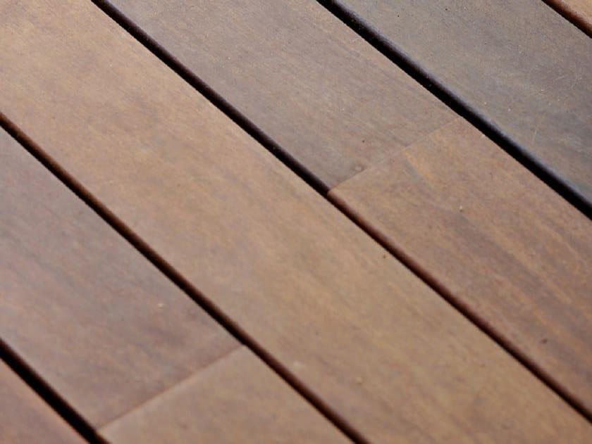 Wooden modular decking Outdoor floor tiles by Corradi