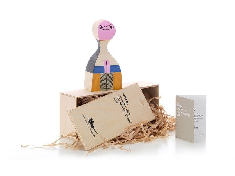 Wooden sculpture WOODEN DOLL N.15 by Vitra