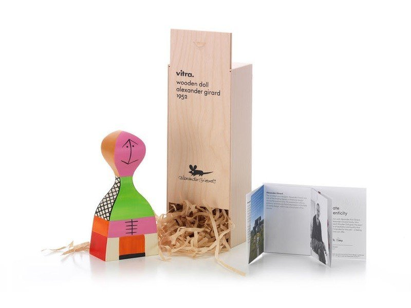 Wooden sculpture WOODEN DOLL N.19 by Vitra