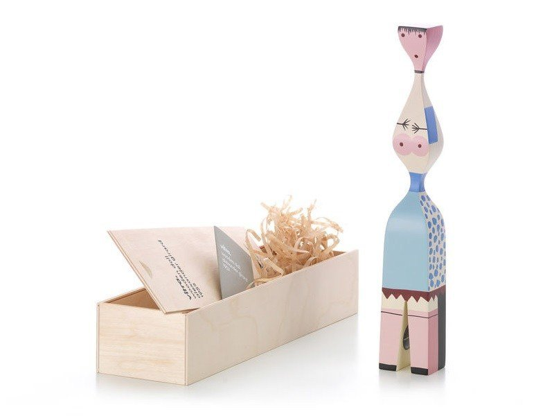 Wooden sculpture WOODEN DOLL N.7 by Vitra