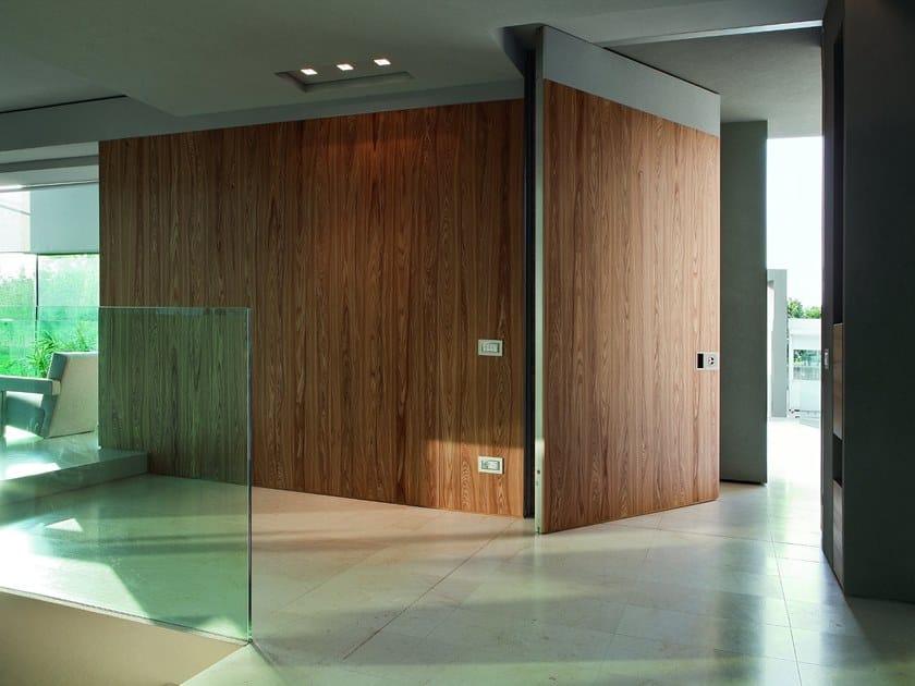 Wooden entry door SWS | Wooden entry door by OIKOS VENEZIA