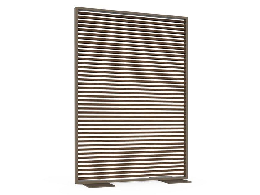 Divisorio in alluminio termolaccato e legno CELOSÍAS   Divisorio in legno by GANDIABLASCO