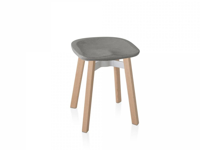 Low stool SU | Stool by Emeco