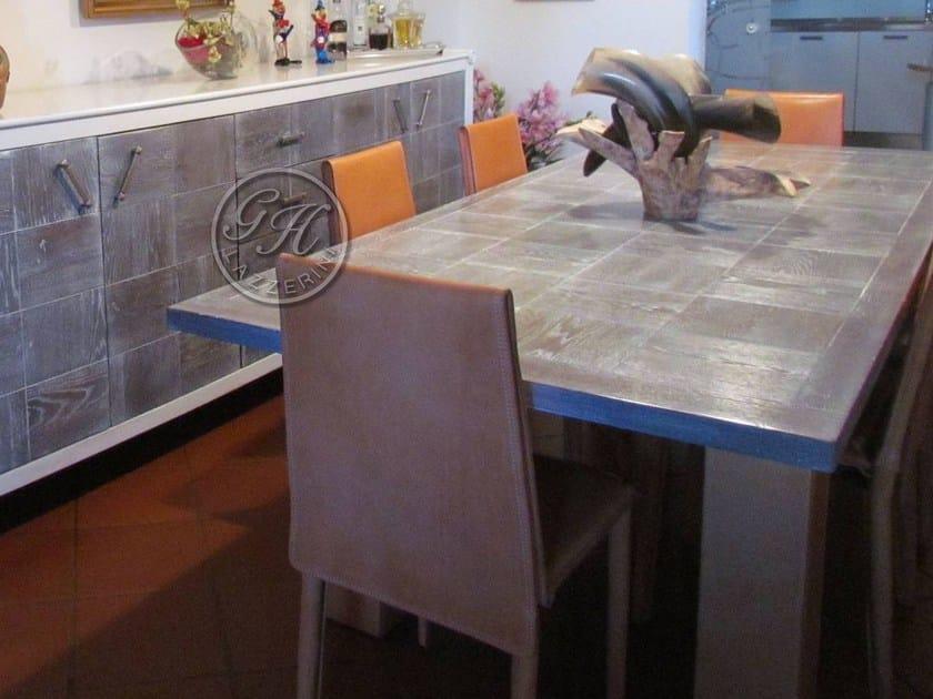 Gh Lazzerini In Legno Su 11 Rettangolare Misura Tavolo qpUMVGSz