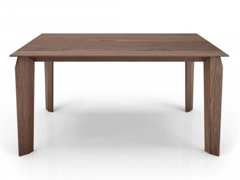 Rectangular walnut dining table MAGNOLIA | Wooden table by Huppé