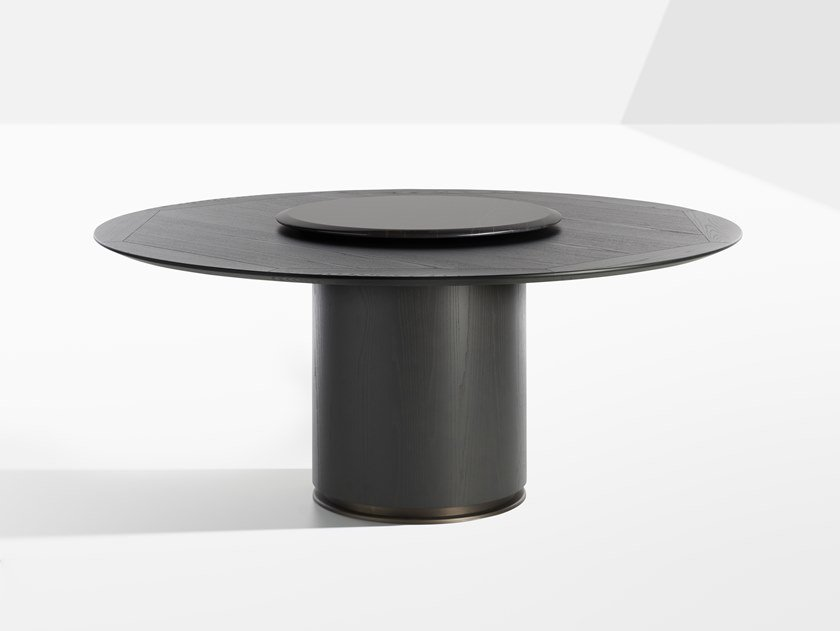 Round wooden table OTAB | Wooden table by Potocco