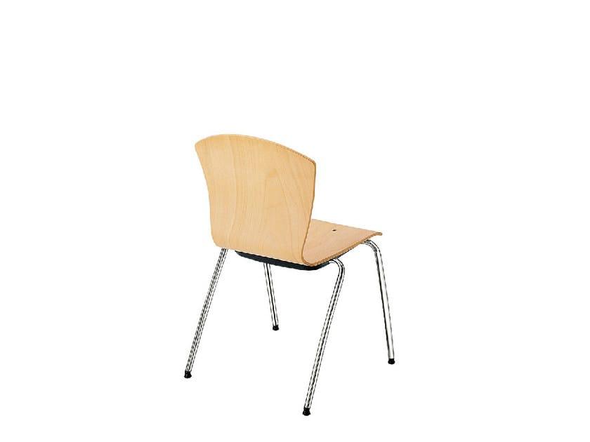 Beech training chair TA-CHERIE | Beech training chair by Sesta