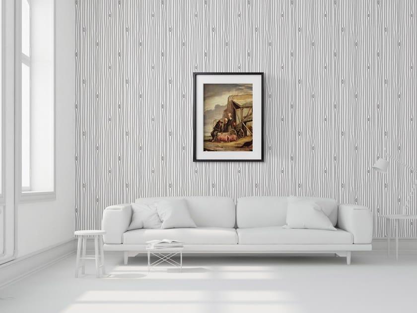 Vinyl wallpaper WOODGRAIN OUTLINE by Mineheart