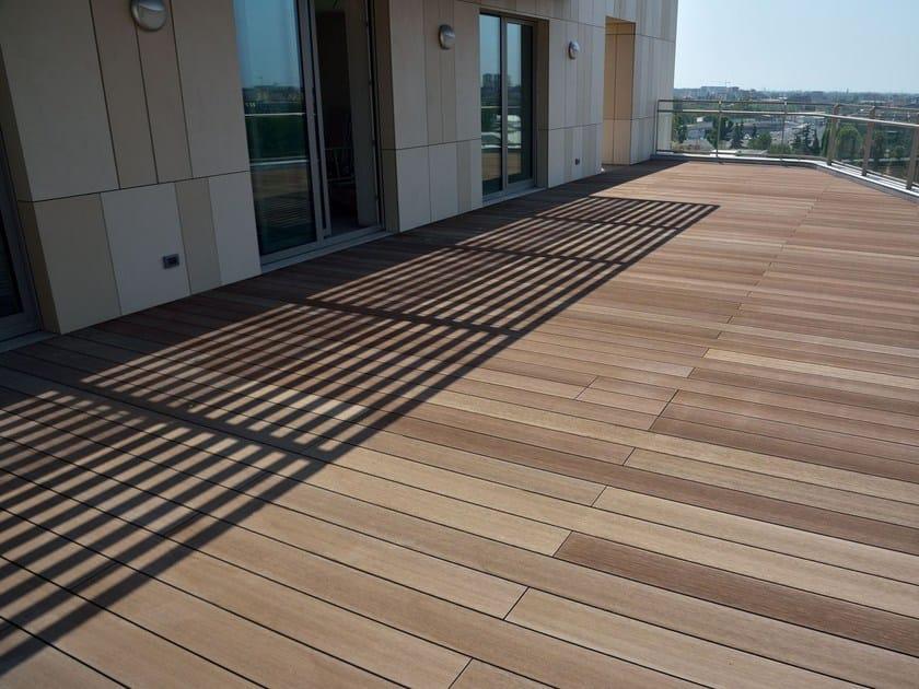 Engineered wood decking AETERNUS | Decking by WOODN INDUSTRIES