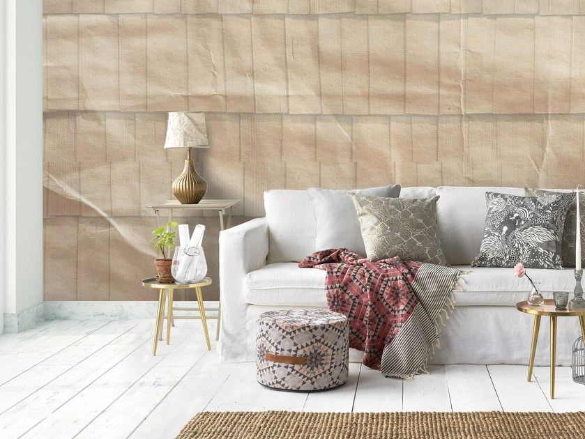 Adhesive washable wallpaper WOODPAPER by Wall LCA