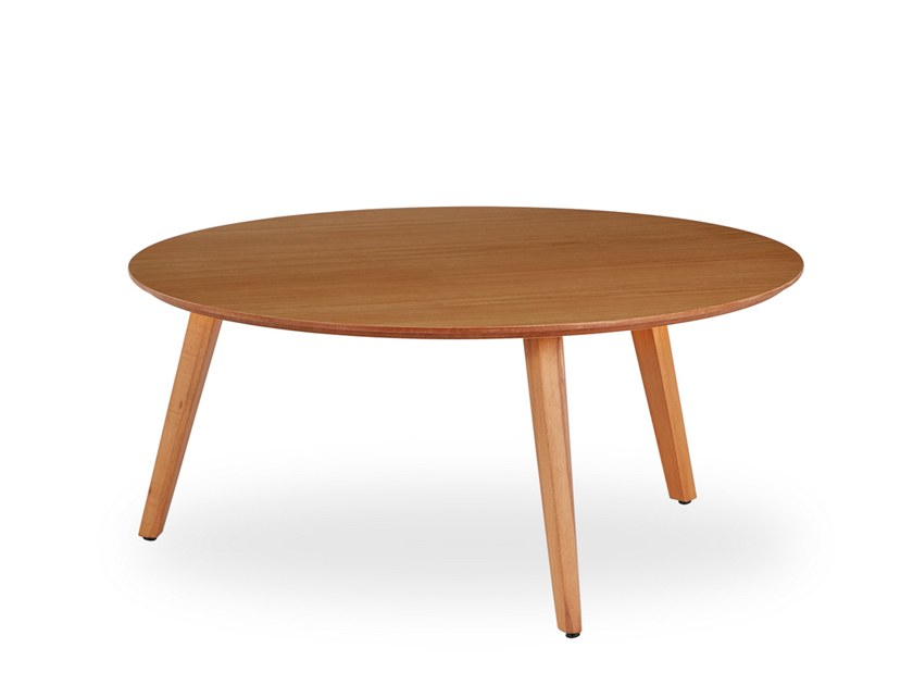 Round coffee table WOODPLATE | Coffee table by B&T Design