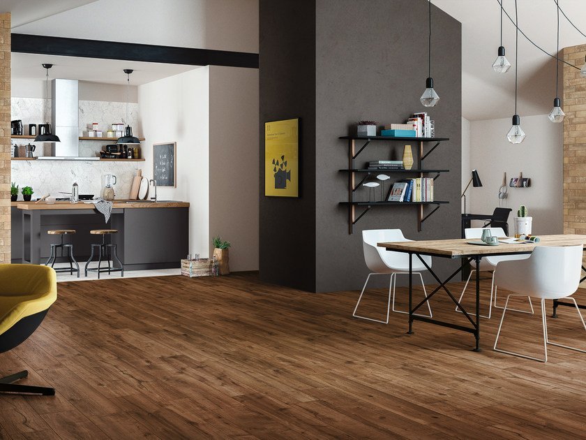 Porcelain stoneware flooring with wood effect WOODTALE by Ragno