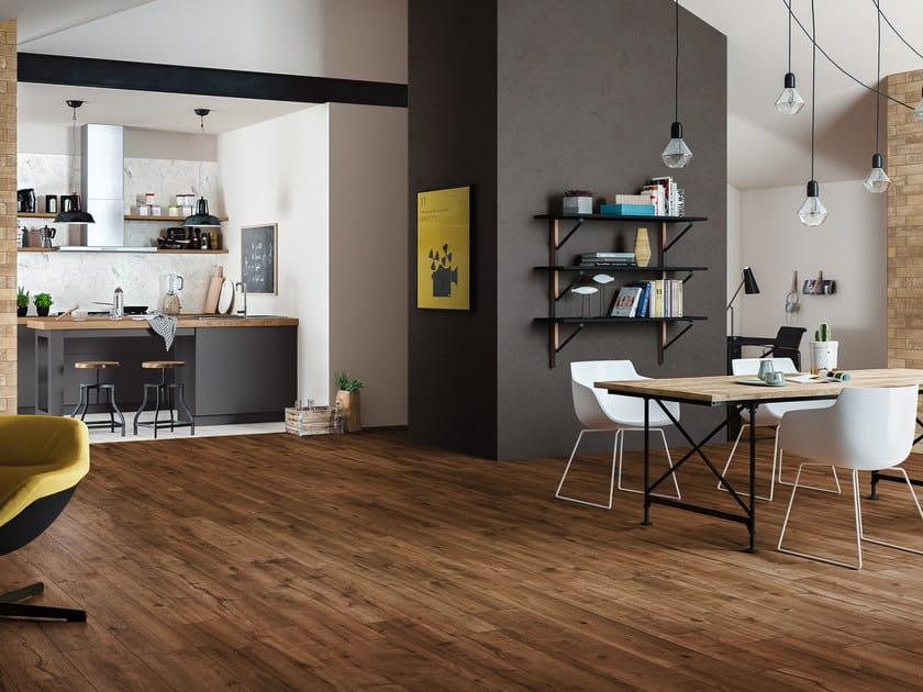 Pavimento in gres porcellanato effetto legno woodtale ragno - Pavimento bagno effetto legno ...