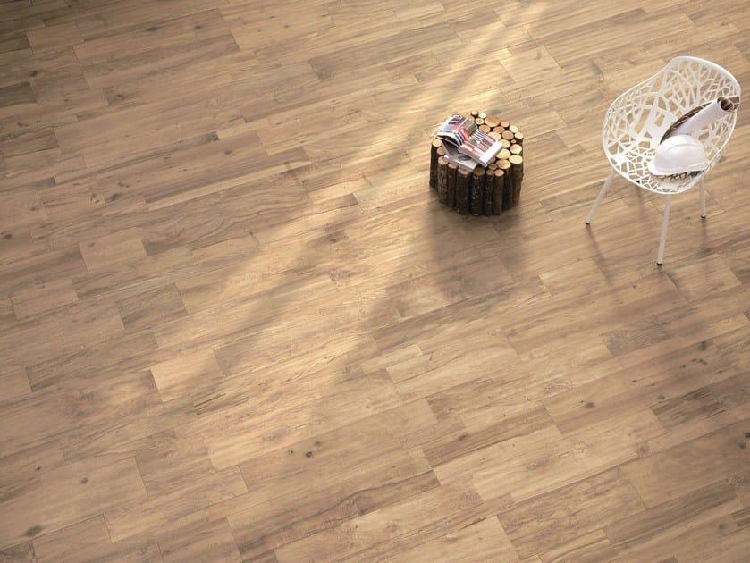 Indoor/outdoor Porcelain Stoneware Wall/floor Tiles WOODTALK BEIGE By Ergon  By Emilgroup