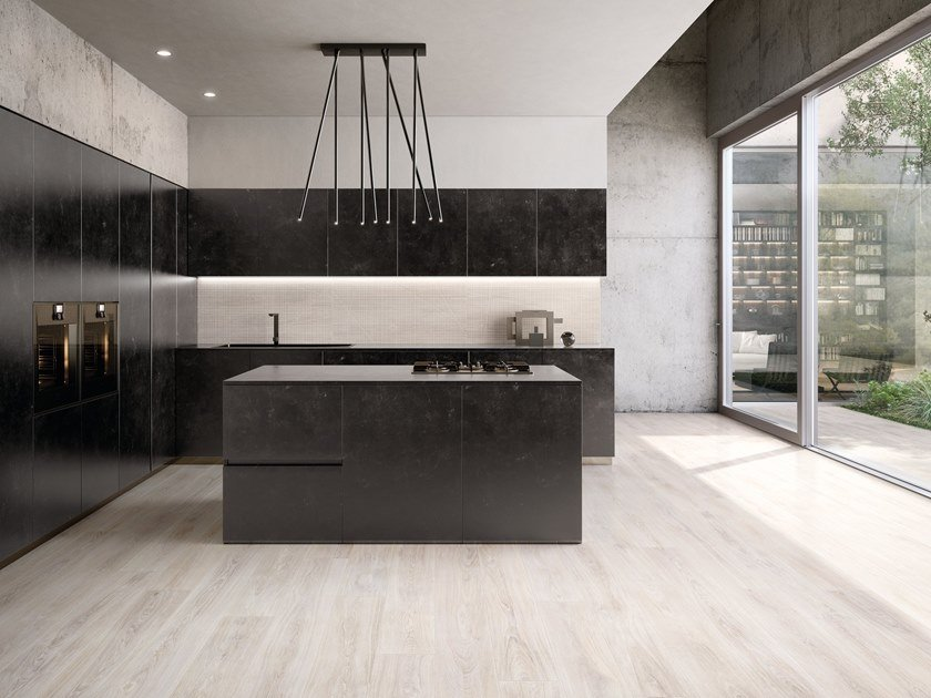 Porcelain stoneware wall/floor tiles with wood effect WOODTOUCH SBIANCATO by Ergon by Emilgroup