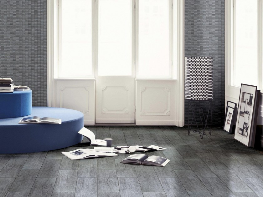 Porcelain stoneware flooring with wood effect WOODY by CERAMICHE BRENNERO