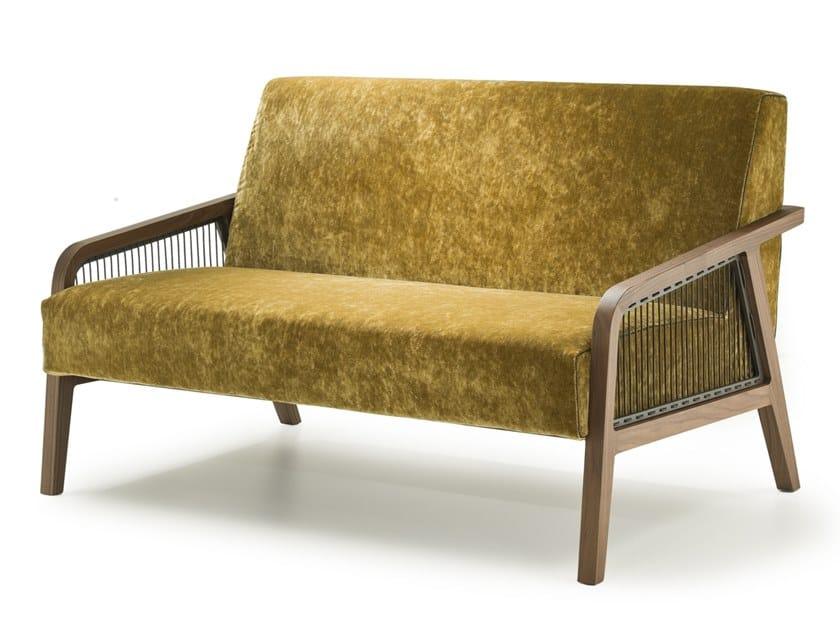 Fabric small sofa WOODY | Small sofa by i 4 Mariani
