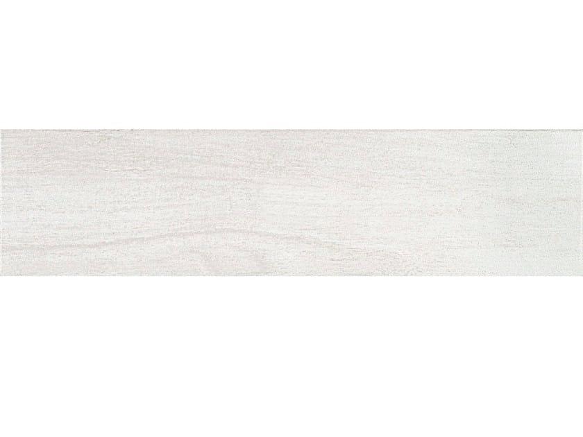 Porcelain stoneware flooring WOODY WHITE by CERAMICHE BRENNERO