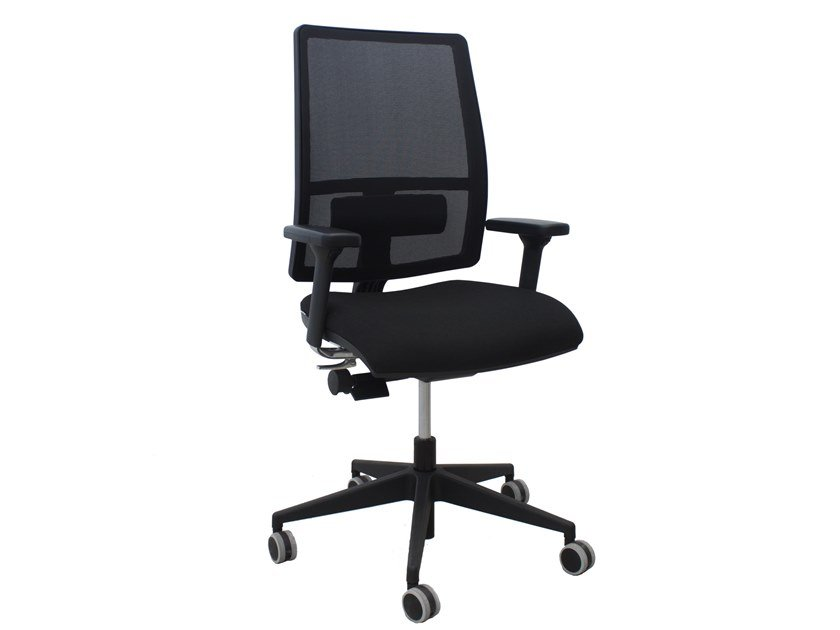 Task chair with 5-Spoke base with castors WORK by CUF Milano