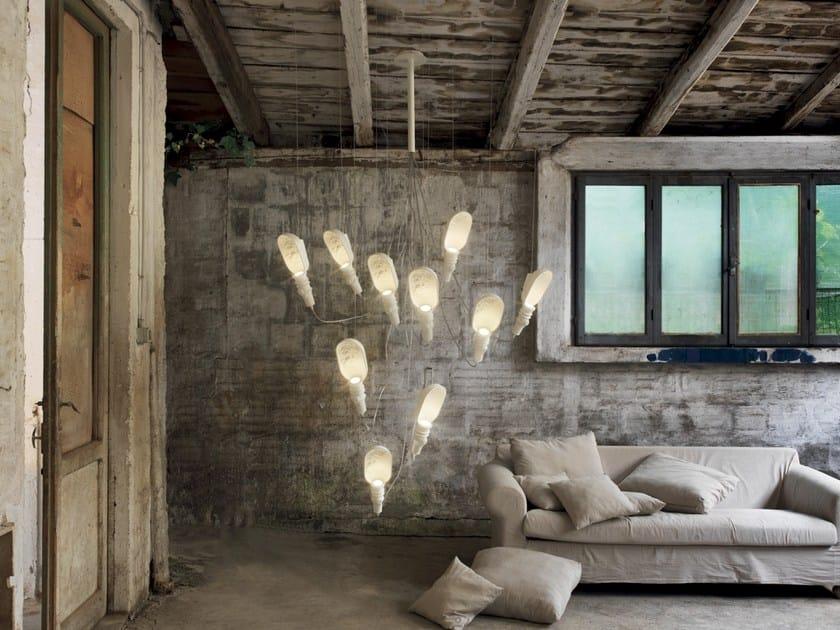 Direct light ceramic pendant lamp WORK IN PROGRESS   Pendant lamp by Karman