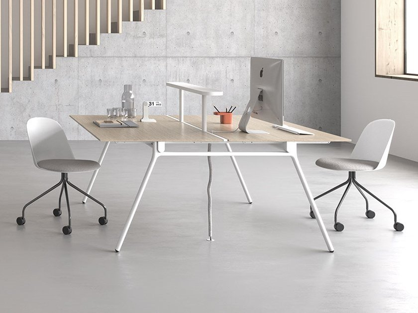 Workstation desk with overbridge LAY   Workstation desk by Archiutti