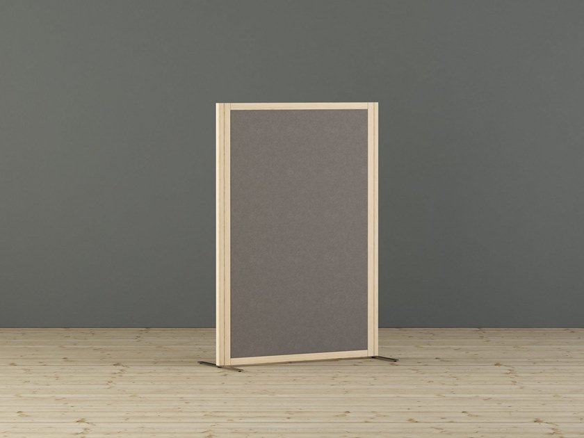 Sound absorbing free standing workstation screen EUROPO | Workstation screen by Glimakra of Sweden