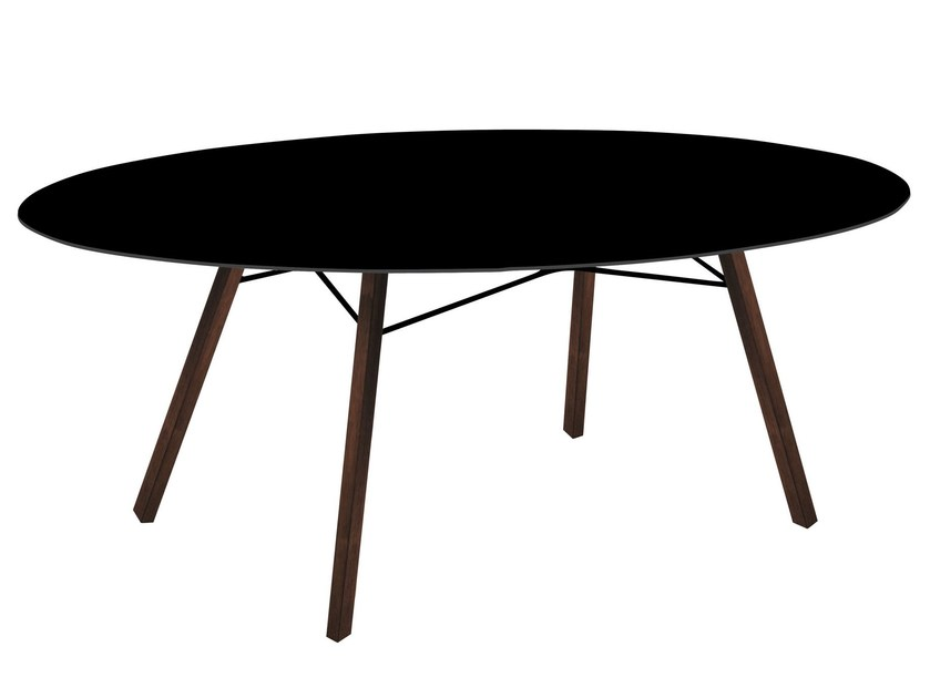 Oval garden table WOX IROKO | Oval table by Papatya