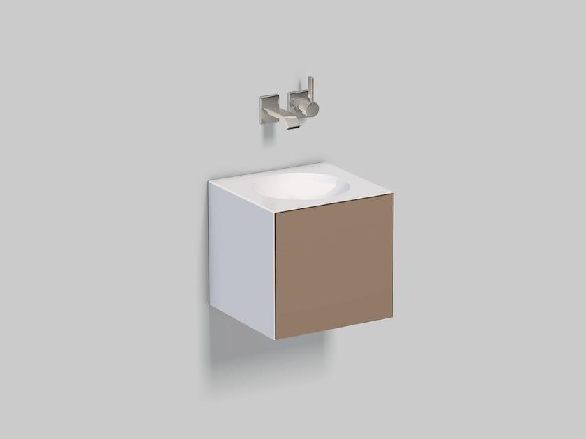 Spazio lavabo in acciaio vetrificato WP.Folio12 by Alape