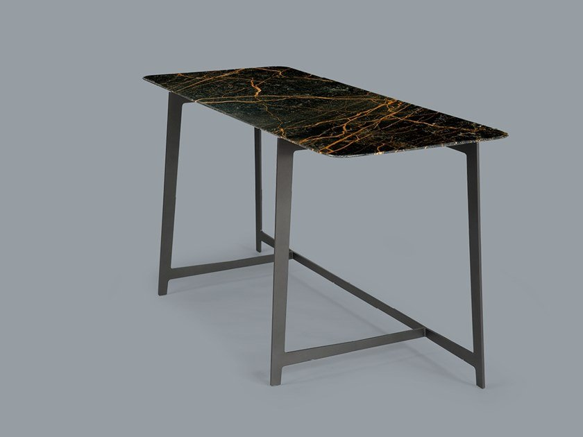 Rectangular marble writing desk B SERIES | Writing desk by Borzalino