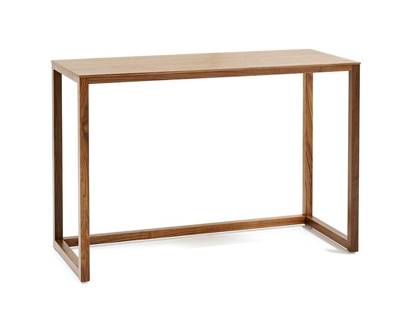Rectangular wooden writing desk JHK TABLE | Writing desk by Wittmann