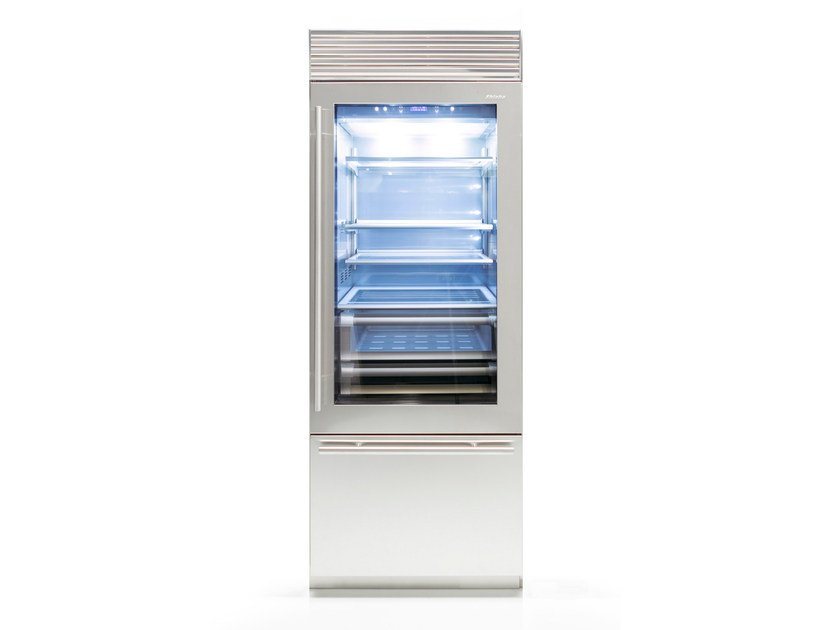 Refrigerator with glass door with freezer X-PRO 75 | Refrigerator with glass door by FHIABA