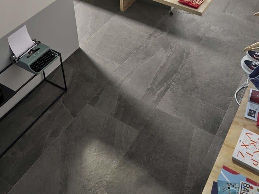 Porcelain stoneware wall tiles / flooring X-ROCK G by Ceramica d'Imola