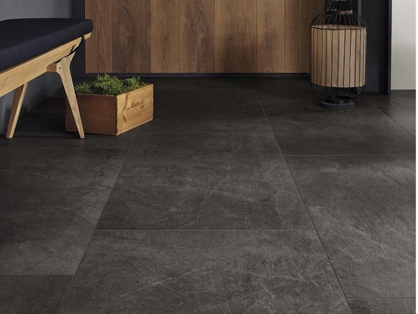 Porcelain stoneware wall tiles / flooring X-ROCK N by Ceramica d'Imola