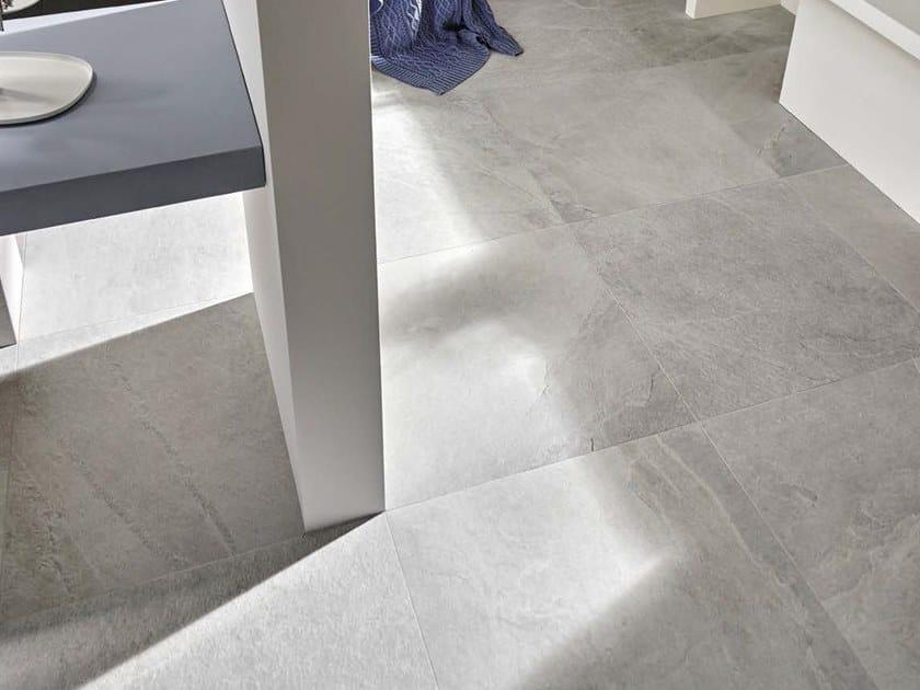 Porcelain stoneware wall tiles / flooring X-ROCK W by Ceramica d'Imola