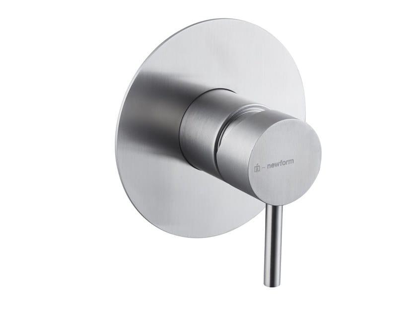 Miscelatore per doccia monocomando X-STEEL 316 | Miscelatore per doccia monoforo by newform