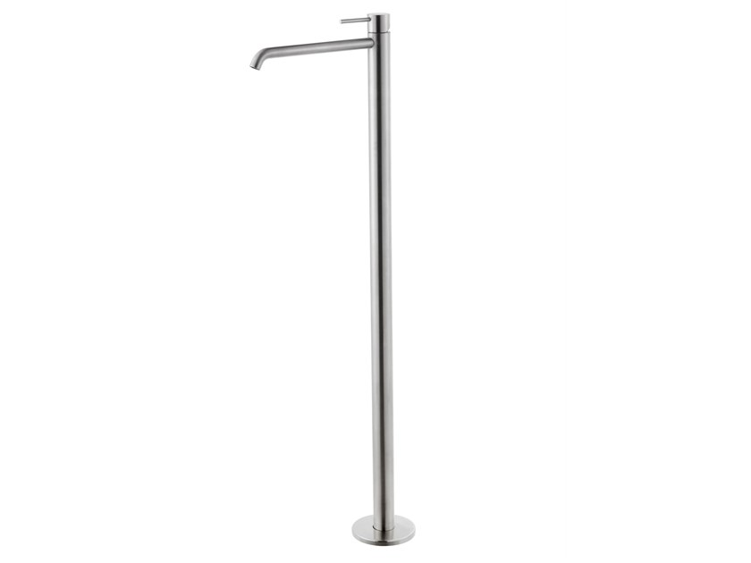 Floor standing stainless steel washbasin mixer X-STEEL 316 | Floor standing washbasin mixer by newform