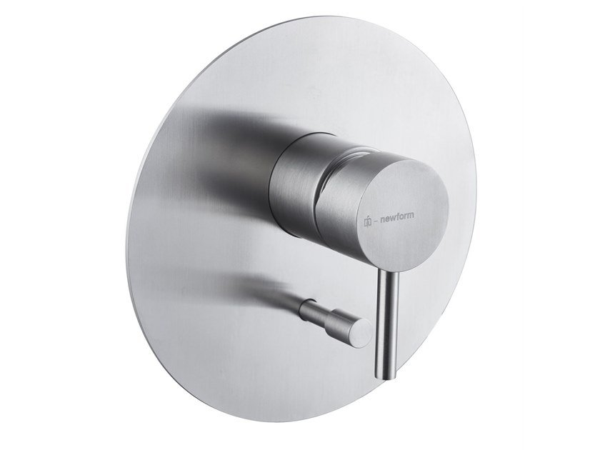 Shower mixer with diverter X-STEEL 316 | Shower mixer with diverter by newform