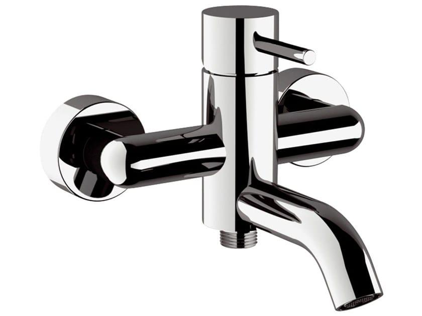 External single handle bathtub mixer X STYLE | External bathtub mixer by Remer Rubinetterie