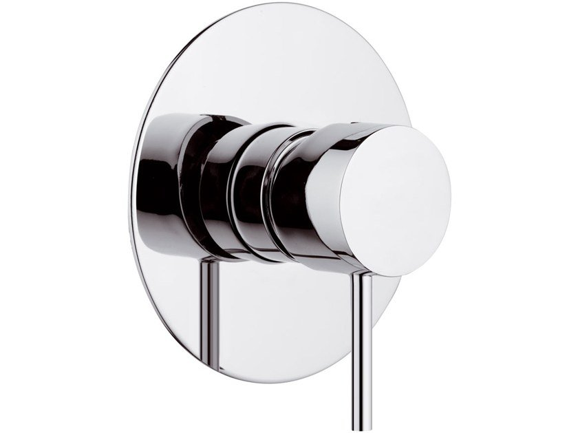 Recessed single handle bathtub mixer X STYLE | Shower mixer by Remer Rubinetterie