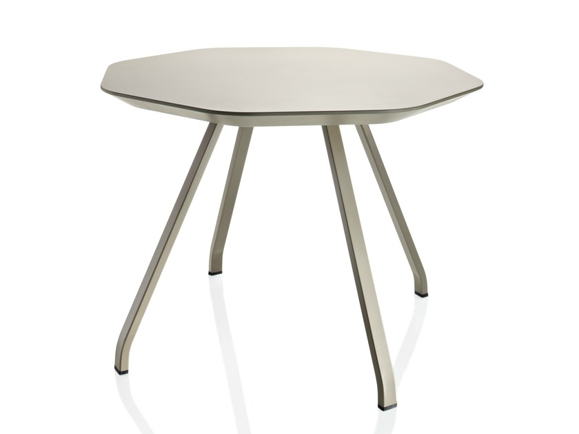Octagonal MDF coffee table for living room X TABLE   Coffee table by ALMA DESIGN