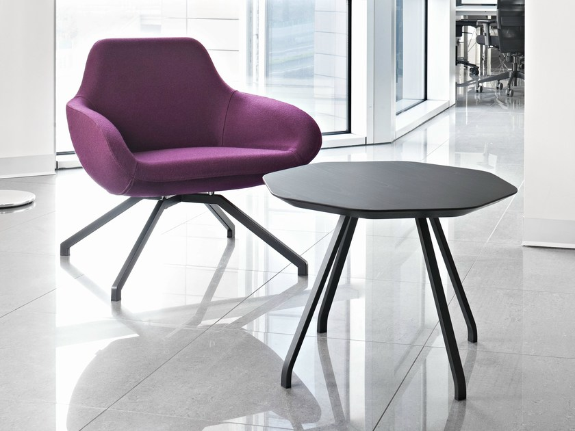 Alma Design TableTavolino Ottagonale In X Frassino rodeCxB