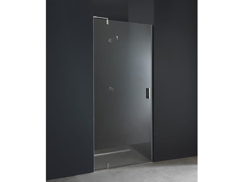 X9 box doccia a nicchia by aisi design design romano adolini - Box doccia su misura milano ...