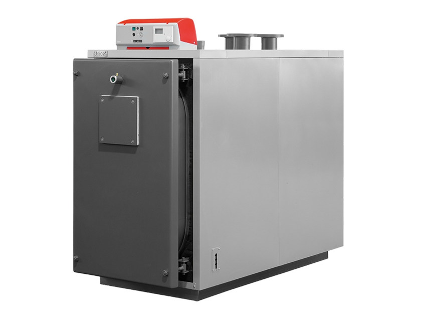 Stainless steel condensation boiler XC-K oil by Unical AG