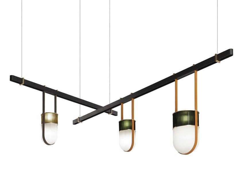 Pendant lamp XI | Pendant lamp by Poltrona Frau