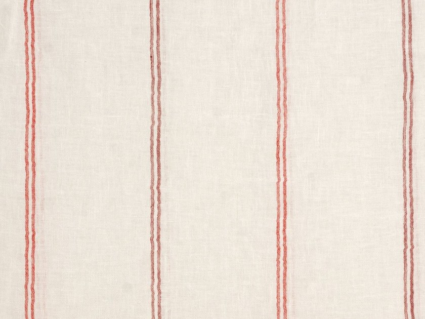 Striped linen upholstery fabric XIROCO by Gancedo