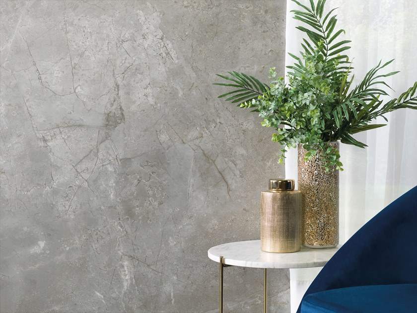Porcelain stoneware wall/floor tiles with marble effect XLIGHT PREMIUM BOSCO GREY by URBATEK